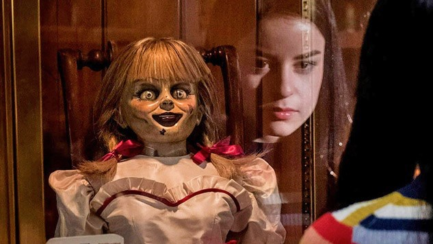 NO PLACE LIKE HOME A possessed doll is kept under lock and key in the home of demonologists Ed and Lorraine Warren (Patrick Wilson and Vera Farmiga, respectively), in the horror thriller, Anabelle Comes Home. - PHOTO COURTESY OF NEW LINE CINEMA
