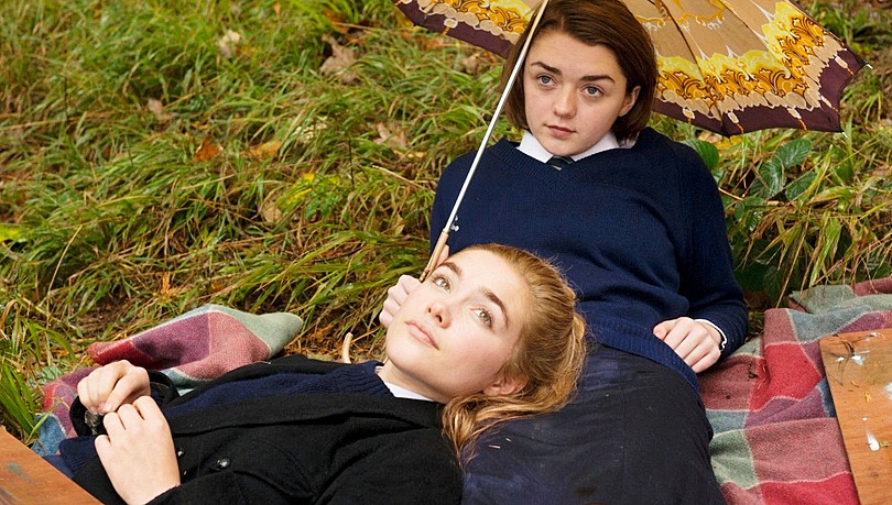 SPELLBINDING Florence Pugh and Maisie Williams play best friends, Abbie and Lydia, in the British psychodrama, The Falling. - PHOTO COURTESY OF BBC FILMS
