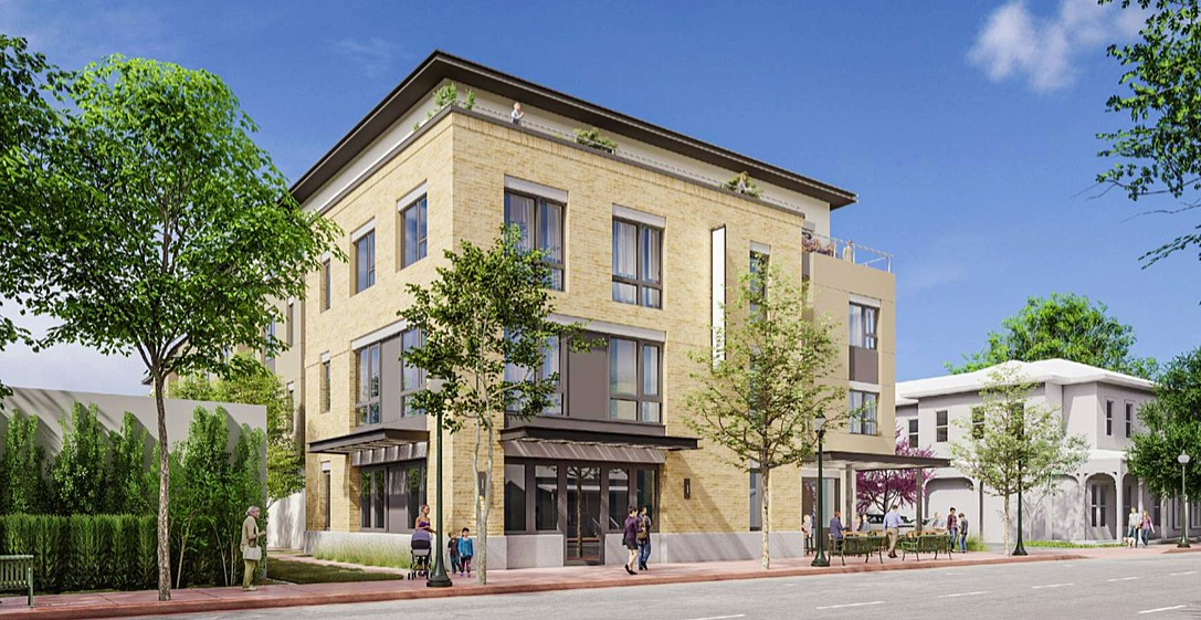 DOWNTOWN DEVELOPMENT The SLO Planning Commission approved two new downtown developments on Feb. 26 that will bring 75 units of housing to Higuera and Marsh streets. - RENDERING COURTESY OF THE CITY OF SLO