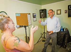 Vocal coach JP Maddex helps the Central Coast's finest singers be even finer
