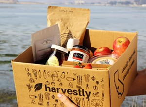 Harvestly distributes food from SLO County growers and makers to local consumers