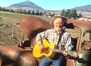 Ted Waterhouse re-releases his timely political song, 'Woody's Ghost'
