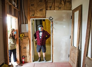 Redwood bones: A local couple purchased one of the oldest buildings in Oceano, intent on refurbishing its former glory