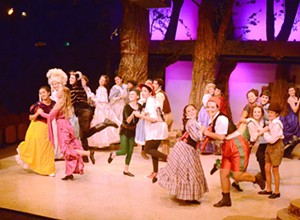 SLO Rep's young actors take the lead with 'Into The Woods Jr.'
