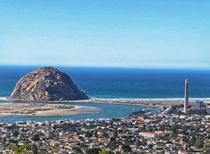 Morro Bay's Black Hill requires a minimal hike to reach amazing views