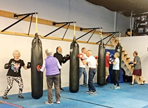 Rock Steady Boxing helps tackle Parkinson's symptoms