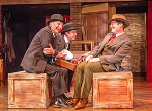 SLO Rep's 39 Steps tackles comedy, mystery with a small cast