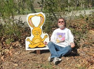 Leigh Rubin designs cartoon signs for SLO Botanical Garden, launches new show
