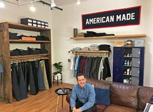 Mission Mall's newest store Office Hours sells men's clothes with an origin story