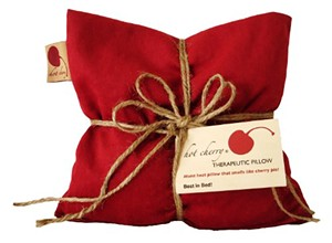 Cherry-pit-filled pillows bring relief to local hospice clients
