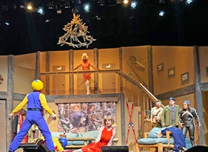 Written and performed by Cuesta's drama department, <b><i>Mystery of the Loose Moose</i></b> shows through Nov. 3