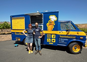 New food truck BaguetteAbout.it specializes in 'sophisticated' share plates designed for wineries and private events