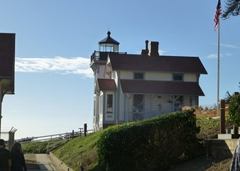 We braved the haunted Port San Luis Lighthouse and lived to tell the tale