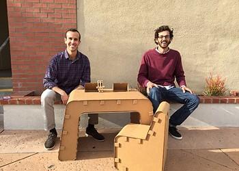 Beyond boxes: The Cardboard Guys fabricate fun furniture for kids
