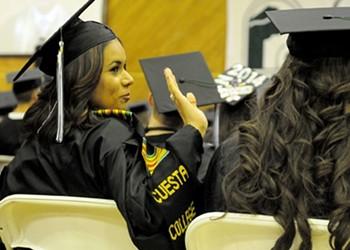 A major tassel: Local students cap their time at Cuesta