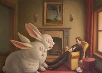 Pop surrealist painter Mark Bryan returns to SLO's Steynberg Gallery