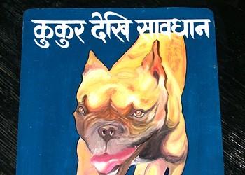 Dog. Danger dog.
