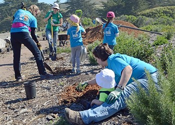 Volunteers for the earth
