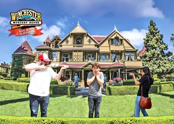 Exploring the Winchester Mystery House in San Jose