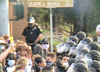 SLO Police Chief defends use of tear gas on June 1 protesters