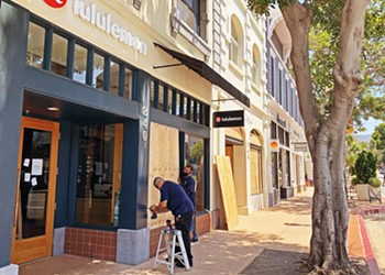 Downtown SLO shuts down for protests