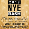 2019 New Year's Eve Bash @ Pavilion on the Lake