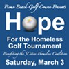 Sixth annual Hope for the Homeless Golf Tournament @ Pismo Beach Golf Course