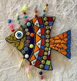 Beginner mosaics - Uploaded by Joan Martin Fee
