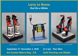 Larry Le Brane's Art Goes 'Out On a Whim!' - Uploaded by Le Brane
