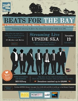 Beats for the Bay November 19 - Uploaded by Morro Bay National Estuary Program