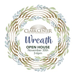 Clark Center Wreath Open House - Uploaded by dave 1