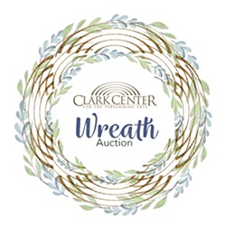 Support the Clark Center and bid on a Wreath! - Uploaded by Yvette Alcoser