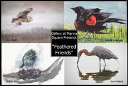Feathered Friends, a Fine Art Group Show - Uploaded by Gregory Siragusa