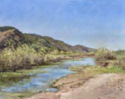 Santa Ynez River at Solvang - Uploaded by Patti Robbins