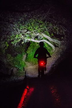 FILE PHOTO BY JAYSON MELLOM - NIGHT ACCESS SLO is moving ahead on making its night hiking program at Cerro San Luis Natural Reserve permanent.
