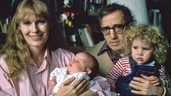 PHOTO COURTESY OF ARTEMIS RISING FOUNDATION - AFFECTION OR OBSESSION In HBO Max's Allen v. Farrow, the sad and disturbing story of Woody Allen and Mia Farrow unfolds, exploring their daughter Dylan's claims of sexual abuse against her father.