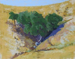 Oaks Across a Crevice - Uploaded by Rosemary Bauer