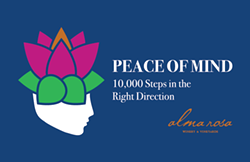 Alma Rosa Winery is continuing its commitment to mental health-related causes with its second-annual 2021 Peace of Mind: 10,000 Steps in the Right Direction fundraising walk on July 24, 2021. - Uploaded by Emma Zimmerman