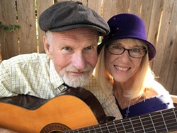Local singer/songwriters Richard Inman and Janice Lamont - Uploaded by Therese Solimeno