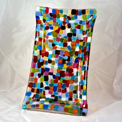 Fine Art Fused Glass by Lisa Renee Falk - Uploaded by Gregory Siragusa