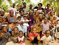 Supporting cocoa farmers lifts up everyone in in the African cocoa farming villages - Uploaded by Lisa Nicholson