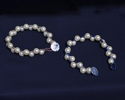 Beaded Glass Pearl Bracelet - Uploaded by Sue Allemand 1