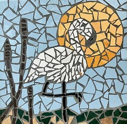 Mosaic Trivet Class - Uploaded by Sue Allemand 1