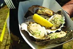 PHOTO BY STEVE E. MILLER - SUCCULENT SEA TREATS:  If last year's attendance is any indication of the success of the Morro Bay Oyster Festival then everyone should get their tickets early his year!