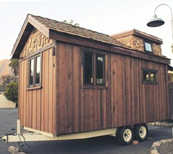 Tiny homes on wheels now legal in SLO City qualifying backyards--learn more at a free community workshop. - Uploaded by Celeste Goyer