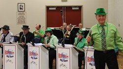 Riptide Big Band at our St. Patricks Day dance in March - Uploaded by Judy Lindquist