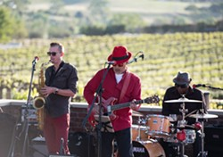 Burning James & The Funky Flames - Uploaded by Robert Hall Winery