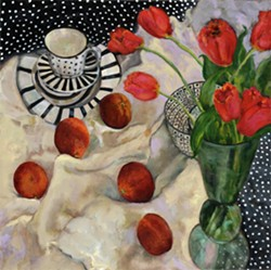 Blood Oranges, Tulips and Polka Dots - Uploaded by Patti Robbins