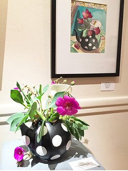 Flowers and Floral Paintings - Such a sweet match! - Uploaded by Sheri Parisian