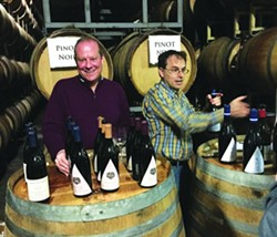 The Pinot Noir station is the busiest - Uploaded by Stephan Bedford